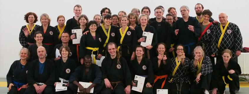 Kampfkunst-Prüfung