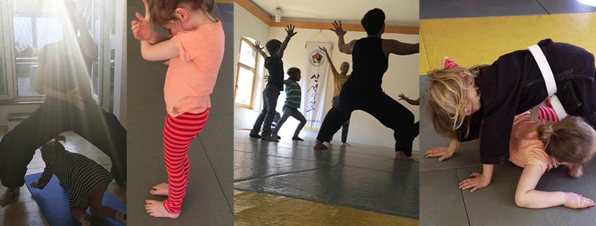 Spaß mit Eltern-Kind-Training