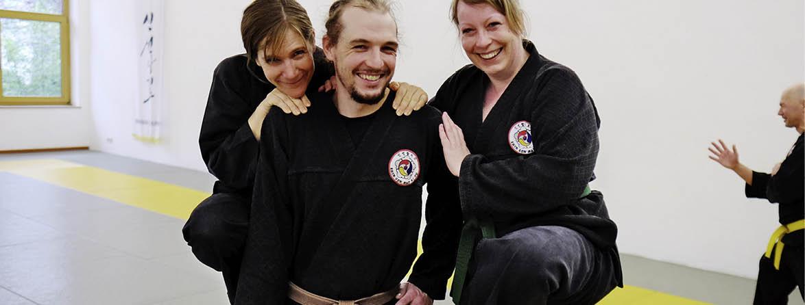 Kampfkunst Training für alle mit Spaß und Gemeinschaft